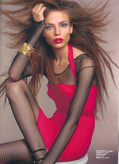 Natasha Poly does Vogue Nippon-2006
