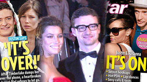 Justin Timberlake and Jessica Biel Breakup, New Glee Episode, and Khloe Kardashian's Wedding