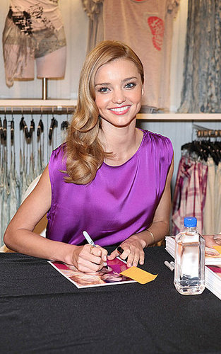 Inside Fashions Night Out With Miranda Kerr