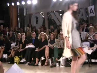 London Fashion Week: Fashion East-Natascha Stolle Spring 2009