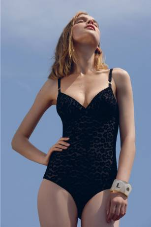 Stella McCartney Mixes Strawberry Prints with Black Lace in Spring 2010 Lingerie Collection