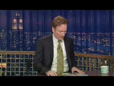 Conan Doesn't Have an Irish Stew Recipe