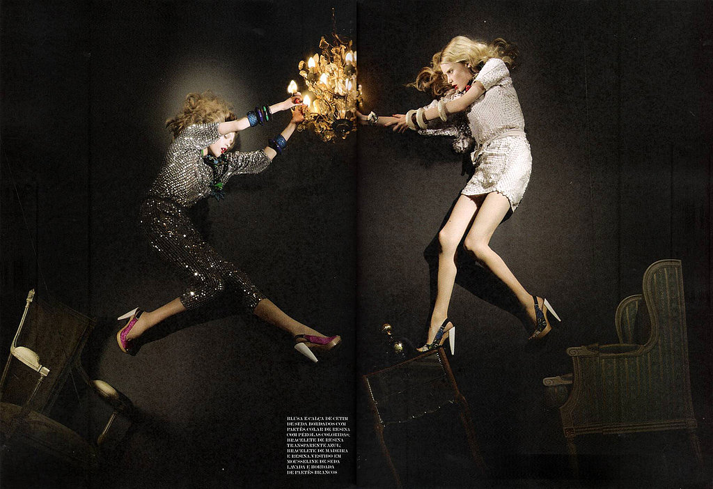 Alber Elbaz Art Directs for Vogue Brazil December 2009