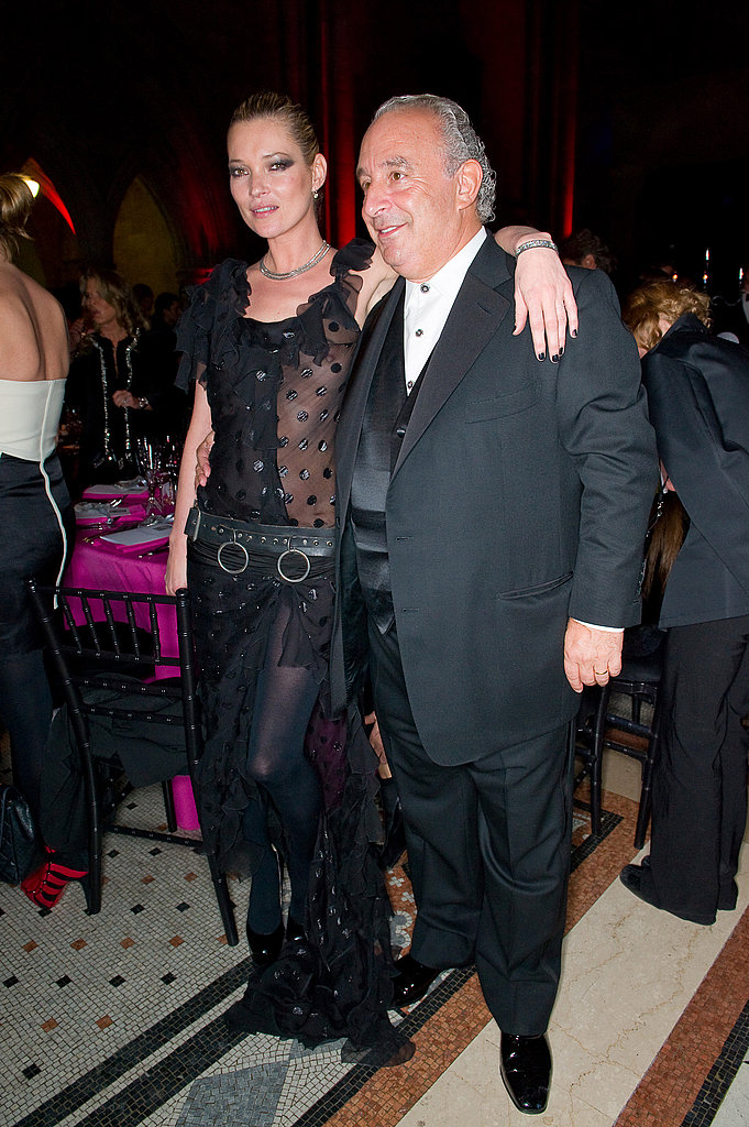 Kate Moss, Sir Philip Green