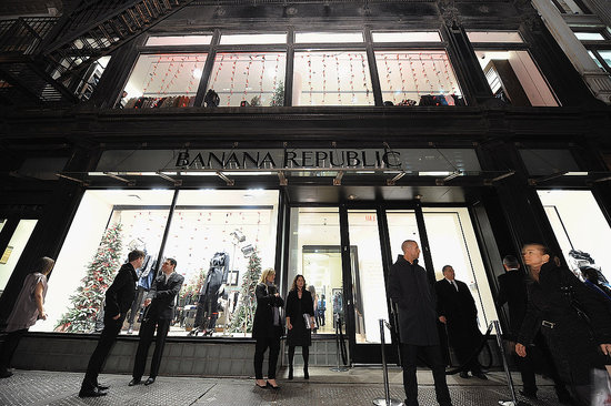 Banana Republic Breaks Down Massive New Store into Mini Boutiques