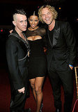 Jeremy Scott, Ciara, and Peter Dundas