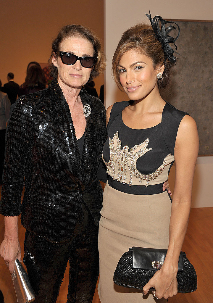 Lisa Love and Eva Mendes