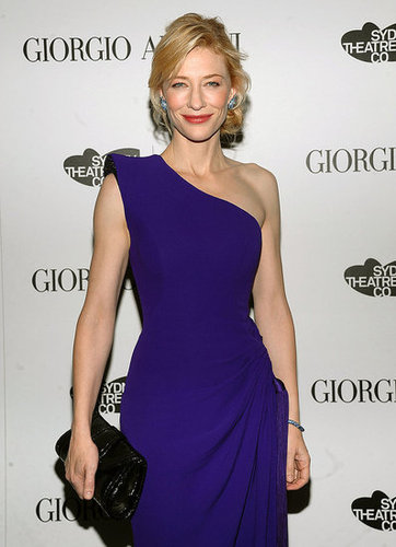 Giorgio Armani Hosts Dinner for December Vogue Cover Girl Cate Blanchett