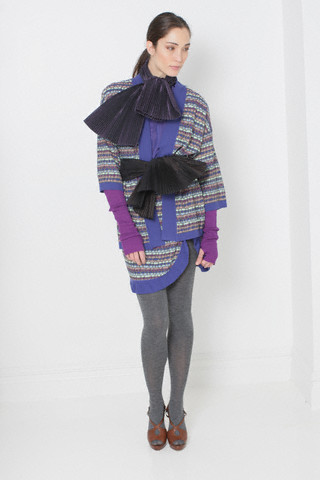 Angela Missoni Layers Signature Knitwear in Missoni Pre-Fall 2010