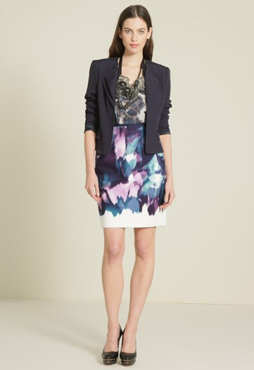 Elie Tahari's Pre-Fall 2010 Collection Plays with Texture and Draping
