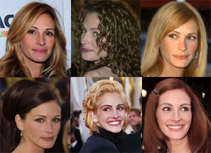 10 of Julia Roberts' Hottest Hairstyles