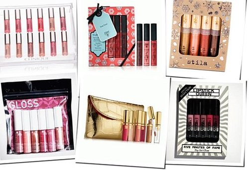 Lip gloss Christmas sets