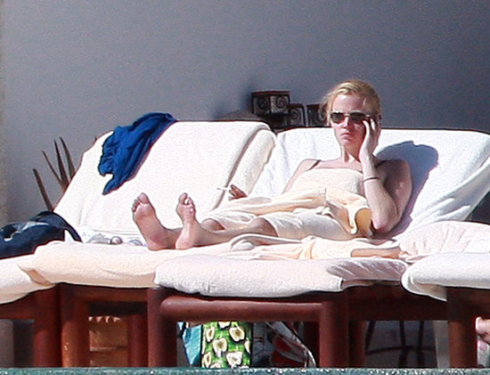 Lara Stone Brings Out the Bikini for a Mexican Holiday with David Walliams