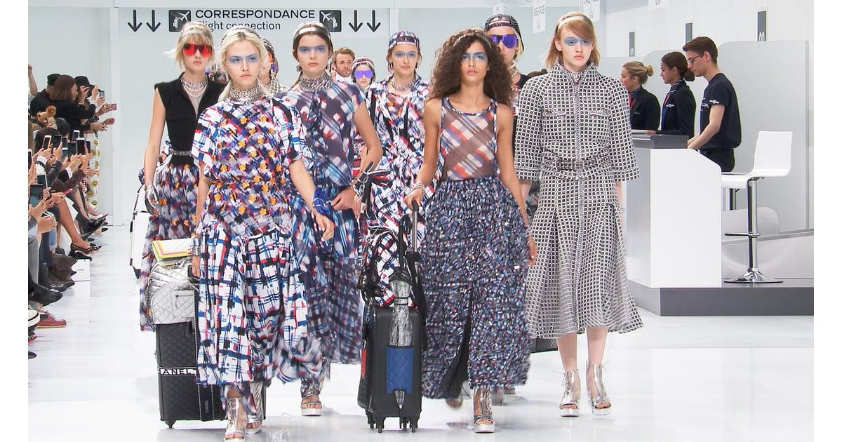 Wearable wednesdays chanel paris fashion week ss16