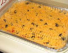 My Famous Seven Layer Dip