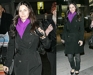 Dirt's Courteney Cox in NYC