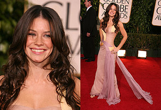 The Golden Globes Red Carpet: Evangeline Lilly