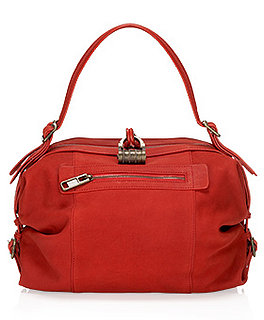 Last Chance to Win This Cherry Red Derek Lam Handbag!