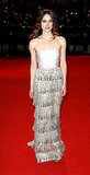Keira Knightley in Tiered Valentino