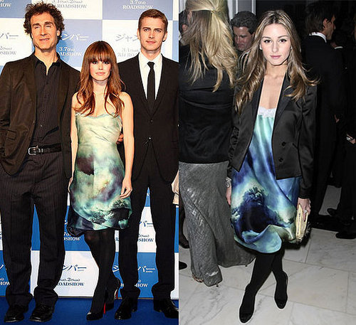 Who Wore It Better? Zac Posen Watercolor Dress