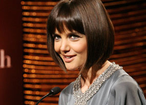 No Designs on Katie Holmes For Armani