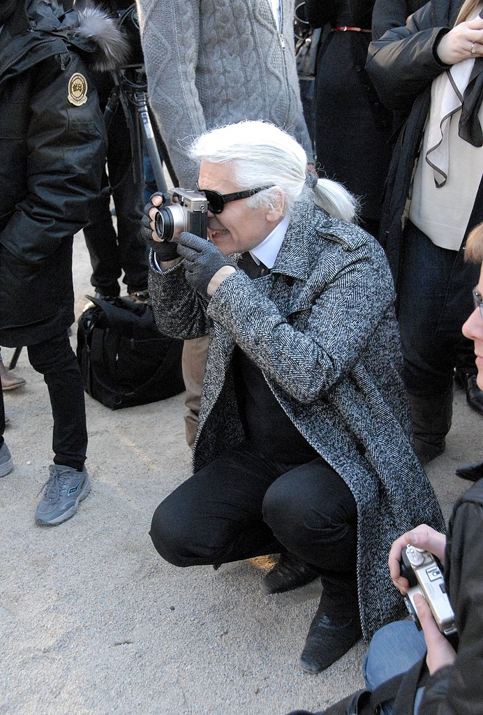 Karl Lagerfeld Gets Behind the Camera