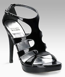 The Look For Less: Stuart Weitzman Patent Pump Sandals