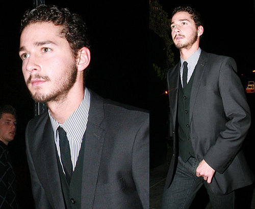 Shia Keeps His NYE Partying Responsible