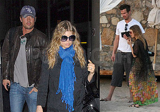 Fergie and Josh Duhamel Vacation in Cabo