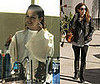 Rachel Bilson Gets Her Hair Done