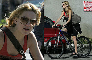 Kate Hudson Goes for a Bicycle Ride on January 20th with Friends