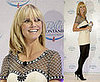 Heidi Klum Promotes New Mineral Water Bella Fontanis in Munich, Germany