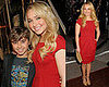 Hayden Panettiere and Jansen Panettiere at the Premiere of the Spiderwick Chronicles
