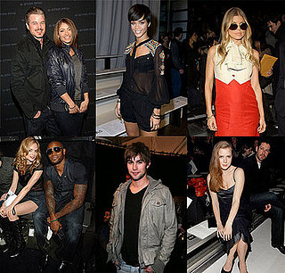 Celebrities Still Sitting Pretty at Fashion Week