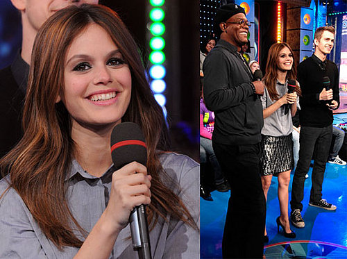 Rachel Bilson and Hayden Christensen on TRL
