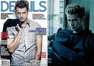 Hayden Christensen in Details Magazine