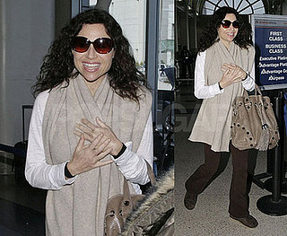 Minnie Driver Pregnant in LA