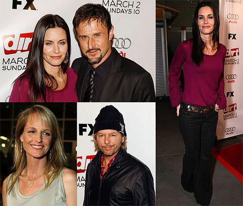 Courteney Cox At The Premiere of Dirt In Los Angeles