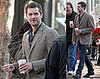 Joshua Jackson Is Back to Work!
