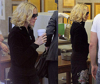 Madonna at Jury Duty in Los Angeles