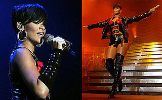 Rihanna Performing in Dublin, Ireland on February 27, 2008