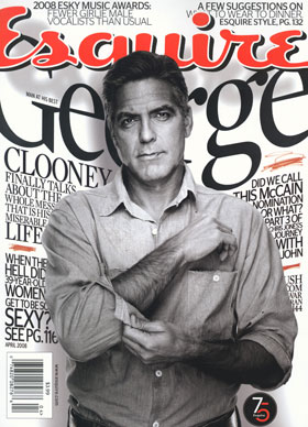 Clooney Talks Some Smack and Plays on the Internet