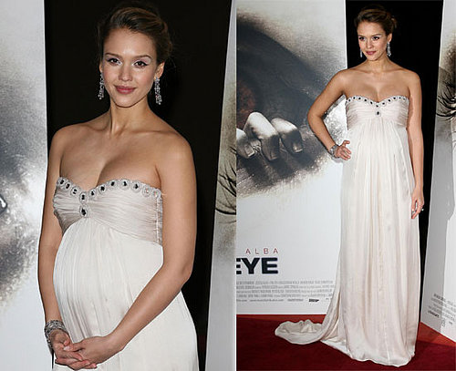 "Jessica Alba At The Premiere of ""The Eye"" In Paris"