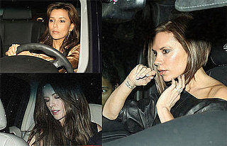 Victoria Beckham, Eva Longoria, Kate Beckinsale Out in LA at STK Restaurant