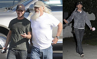 Shia LaBeouf and His Dad