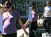 Pregnant Halle Berry with Fiance Gabriel Aubry Leaving Bristol Farms in LA