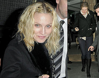 Madonna and Gwyneth Paltrow grab dinner in London