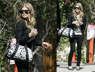 Fergie's Looking Less and Less Like a Mommy-To-Be