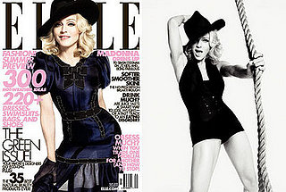 Images of Madonna on Elle US
