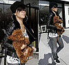 Rihanna and her dog shopping in LA